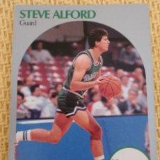 Coleccionismo deportivo: CARD NBA HOOPS 1990 - 81 - STEVE ALFORD. Lote 39093135