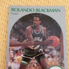 Coleccionismo deportivo: CARD NBA HOOPS 1990 - 82 - ROLANDO BLACKMAN. Lote 39093152