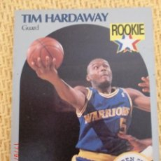 Coleccionismo deportivo: CARD NBA HOOPS 1990 - 113 - TIM HARDAWAY. Lote 39094839