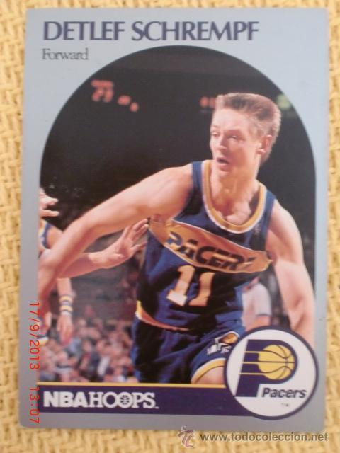CARD NBA HOOPS 1990 - 138 - DETLEF SCHREMPF (Coleccionismo Deportivo - Cromos otros Deportes)