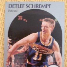 Coleccionismo deportivo: CARD NBA HOOPS 1990 - 138 - DETLEF SCHREMPF. Lote 39095283