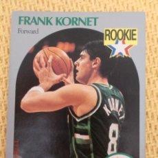 Coleccionismo deportivo: CARD NBA HOOPS 1990 - 176 - FRANK KORNET. Lote 39108088