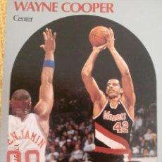 Coleccionismo deportivo: CARD NBA HOOPS 1990 - 244 - WAYNW COOPER. Lote 39120864