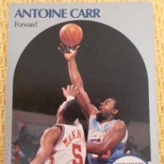 Coleccionismo deportivo: CARD NBA HOOPS 1990 - 255 - ANTOINE CARR. Lote 39121028