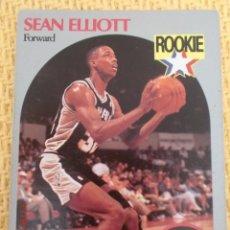 Coleccionismo deportivo: CARD NBA HOOPS 1990 - 267 - SEAN ELLIOTT. Lote 39121371
