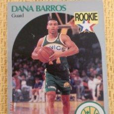 Coleccionismo deportivo: CARD NBA HOOPS 1990 - 274 - DANA BARROS. Lote 39121525