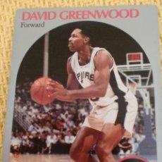 Collezionismo sportivo: CARD NBA HOOPS 1990 - 433 - DAVID GREENWOOD. Lote 39151458