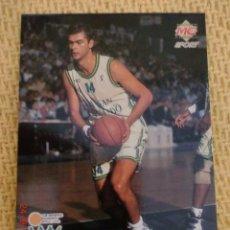 Coleccionismo deportivo: MUNDICROMO ACB 96. - 99 - LOPEZ VILAS. Lote 39187374