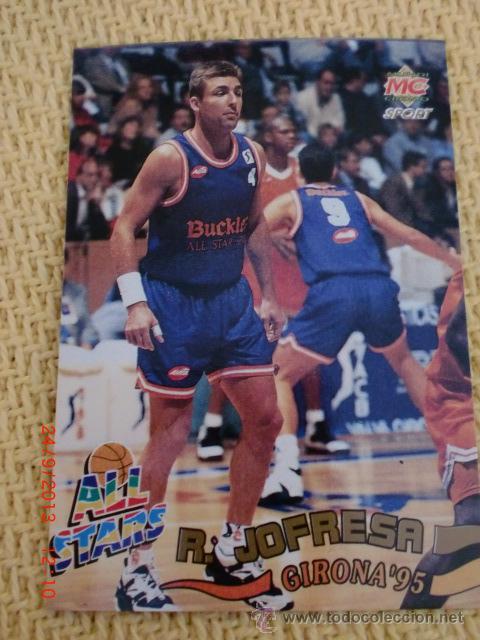 MUNDICROMO FICHAS ACB 95. - 214 - RAFA JOFRESA (Coleccionismo Deportivo - Cromos otros Deportes)