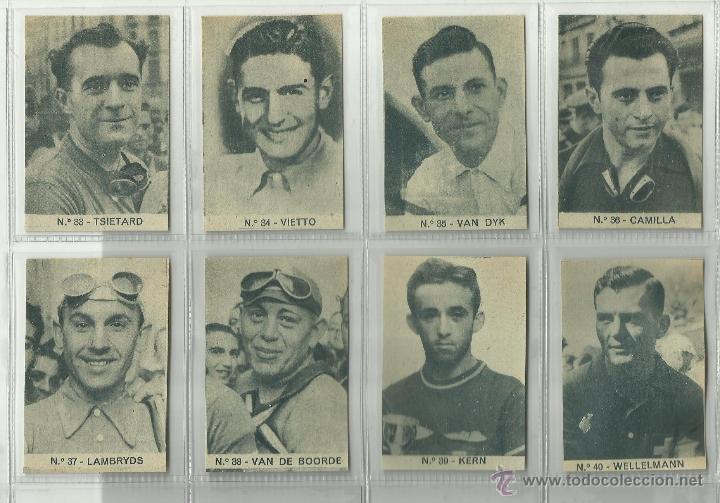 Coleccionismo deportivo: ASES DEL PEDAL - CICLISMO - COL. COMPLETA 40 CR.-PUBLI. LA COLMENA -BILBAO - VER FOTOS -(CR-266) - Foto 5 - 40085703