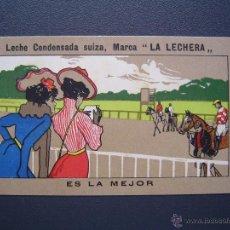 Coleccionismo deportivo: SPORT - COLECCIÓN COMPLETA 12 CROMOS - LA LECHERA - MODERNISTA , PRECIOSO. Lote 41024178