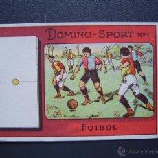 Coleccionismo deportivo: DOMINO - SPORT - COLECCIÓN COMPLETA 28 CROMOS - MUY BONITA ( DOMINO-SPORT ). Lote 41024513
