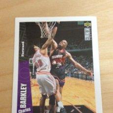 Coleccionismo deportivo: CROMO UPPER DECK 1996/1997 - CHARLES BARKLEY - NBA - BASKETBALL - BALONCESTO - Nº 23. Lote 41113878
