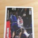 Coleccionismo deportivo: CROMO UPPER DECK 1996/1997 - WALT WILLIAMS - NBA - BASKETBALL - BALONCESTO - Nº 155. Lote 164615640
