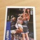 Coleccionismo deportivo: CROMO UPPER DECK 1996/1997 - JOHN STARKS - NBA - BASKETBALL - BALONCESTO - Nº 167. Lote 164615986