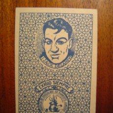 Coleccionismo deportivo: JACK DELANEY - BOXEO - CROMO NAIPE RARÍSIMO - EXCELENTE CONSERVACIÓN - AÑOS 1920S. Lote 41425074