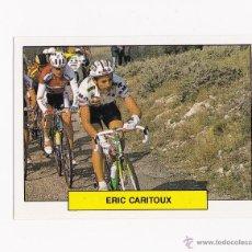 Coleccionismo deportivo: 41 ERIC CARITOUX (RMO) - ASES DEL PEDAL 1992 MERCHANTE CROMO CICLISMO. Lote 41493689