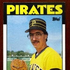 Coleccionismo deportivo: MLB - LEE TUNNELL - Nº 161 - PIRATES - TOPPS - AÑO 1986 - . Lote 41570443