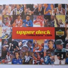 Coleccionismo deportivo: REVISTA CATÁLOGO UPPER DECK COLLECTORS' CLUB - MEDIDAS 21X15 CTS. APROX.. Lote 42295314