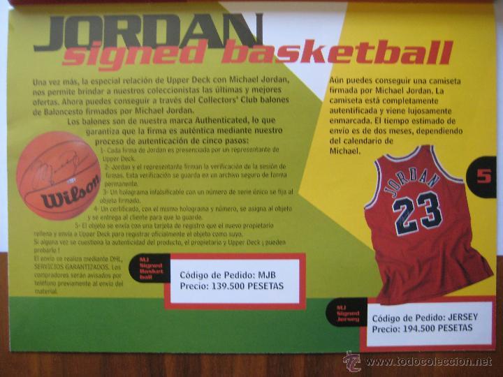 Coleccionismo deportivo: REVISTA CATÁLOGO UPPER DECK COLLECTORS' CLUB - MEDIDAS 21X15 CTS. APROX. - Foto 5 - 42295314