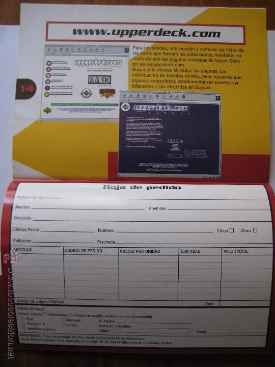 Coleccionismo deportivo: REVISTA CATÁLOGO UPPER DECK COLLECTORS' CLUB - MEDIDAS 21X15 CTS. APROX. - Foto 9 - 42295314