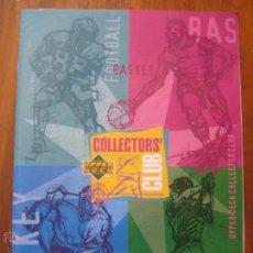 Coleccionismo deportivo: REVISTA CATÁLOGO UPPER DECK COLLECTORS' CLUB. Lote 42295344