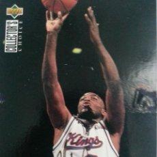 Coleccionismo deportivo: NBA 94-95 [UPPER DECK] (1.994) - MITCH RICHMOND - SACRAMENTO KINGS [TIP OFFS] - CROMO Nº 188.. Lote 43268509