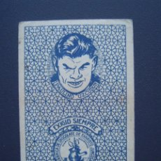 Coleccionismo deportivo: PAULINO UZCUDUN - BOXEO - CROMO NAIPE RARÍSIMO - EXCELENTE CONSERVACIÓN - AÑOS 1920S. Lote 43590562