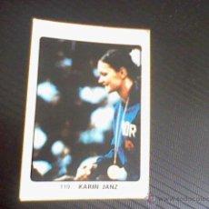 Coleccionismo deportivo: CROMO NUNCA PEGADO ED KEISA 1974 CAMPEONES DEPORTE MUNDIAL Nº 119 KARIN JANZ GIMNASIA . Lote 43714108