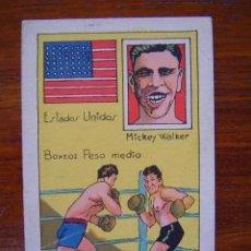 Coleccionismo deportivo: MICKEY WALKER ( ESTADOS UNIDOS ) - BOXEO - CAMPEON MUNDIAL PESO MEDIO - 1929. Lote 43813389