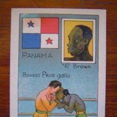 Coleccionismo deportivo: AL BROWN ( PANAMA ) - BOXEO - CAMPEON MUNDIAL PESO GALLO - 1929. Lote 43813416