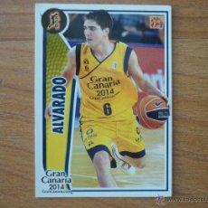 Coleccionismo deportivo: BALONCESTO ACB 2009 2010 PANINI Nº 170 OSCAR ALVARADO (GRAN CANARIA 2014) - BASKET CROMO 09 10 . Lote 104307643