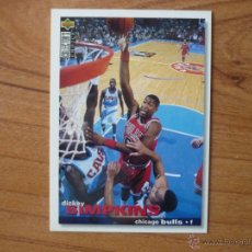 Collezionismo sportivo: UPPER DECK COLLECTORS CHOICE NBA 1995 Nº 21 DICKEY SIMPKINS (CHICAGO BULLS) - BASKETBALL 95 . Lote 55555690