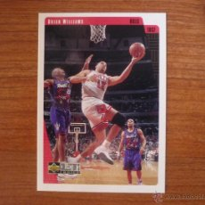 Coleccionismo deportivo: UPPER DECK COLLECTORS CHOICE 1997 NBA Nº 18 BRIAN WILLIAMS (CHICAGO BULLS) - BASKETBALL CROMO 97. Lote 207204206