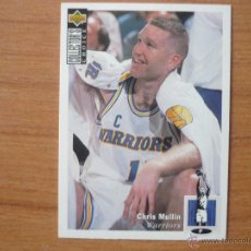 Coleccionismo deportivo: UPPER DECK COLLECTORS CHOICE 1994 NBA Nº 17 CHRIS MULLIN (GOLDEN STATE WARRIORS) - BASKETBALL 94. Lote 179526267