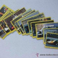 Coleccionismo deportivo: LOTE DE 30 PEGATINAS DE DANONE.CROMOS DE COCHES DE CARRERAS. Lote 44733516