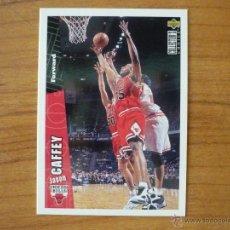 Collezionismo sportivo: UPPER DECK COLLECTORS CHOICE NBA 1996 Nº 220 JASON CAFFEY (CHICAGO BULLS) - BASKETBALL 96. Lote 44764552