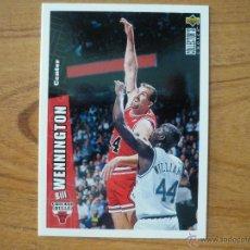 Collezionismo sportivo: UPPER DECK COLLECTORS CHOICE NBA 1996 Nº 222 BILL WENNINGTON (CHICAGO BULLS) - BASKETBALL 96. Lote 44764570