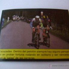 Coleccionismo deportivo: 50 VARIOS CICLISMO - CROMO COLECCION BICICLETAS EDITORIAL BICISPORT 1991. Lote 45006378