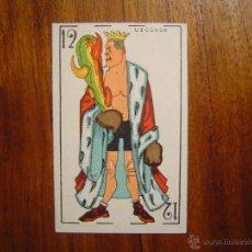 Coleccionismo deportivo: PAULINO UZCUDUN - CAMPEÓN EUROPA BOXEO - CROMO NAIPE RARÍSIMO - EXCELENTE CONSERVACIÓN - AÑOS 1920S. Lote 45251800