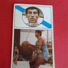 Coleccionismo deportivo: CROMO BALONCESTO. GARRIDO. BREOGAN. Nº 27. MERCHANTE CONVERSE.. Lote 45676422