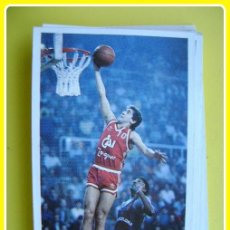 Coleccionismo deportivo: CROMO PEGATINA MERCHANTE CONVERSE, BALONCESTO 87-88, CAI ZARAGOZA - J. ARCEGA - Nº22. Lote 45896320