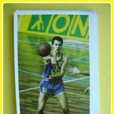 Coleccionismo deportivo: CROMO PEGATINA MERCHANTE CONVERSE, BALONCESTO 87-88, CAJABILBAO - J. LAFUENTE - Nº 36. Lote 45896424