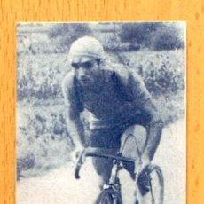 Coleccionismo deportivo: CICLISMO - 7-VIDAURRETA - ASES DEL PEDAL AÑOS 40, LA COLMENA-BILBAO - NUNCA PEGADO. Lote 46343067