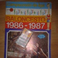 Coleccionismo deportivo: BALONCESTO 1986-1987 MERCHANTE -( CAMPEONATO DE LIGA) CROMOS SUELTOS- MIRA LISTA. Lote 49772179
