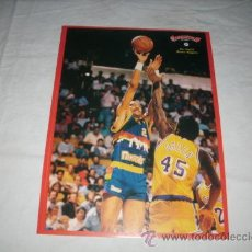 Coleccionismo deportivo: GIGANTES DEL BASKET . 20. ALEX ENGLISH ( DENVER NUGGETS ) --1989 --. Lote 46792064