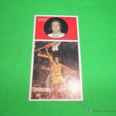 Coleccionismo deportivo: PINONE - 77 - ESTUDIANTES - CAMPEONATO DE LIGA BALONCESTO 1986 - 1987 ( 86/87 ) - J. MERCHANTE. Lote 47596132