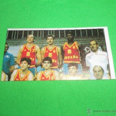 Coleccionismo deportivo: SELECCION NACIONAL - 137 - CAMPEONATO DE LIGA BALONCESTO 1986 - 1987 ( 86/87 ) - J. MERCHANTE. Lote 47651248