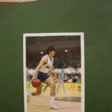 Coleccionismo deportivo: CROMOS BASKET 87 88 1987 1988 BALONCESTO MERCHANTE CONVERSE CROMO Nº 74 M.CARBAJAL OXIMESA. Lote 47675891