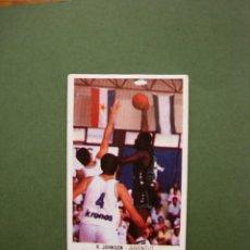 Coleccionismo deportivo: CROMOS BASKET 87 88 1987 1988 BALONCESTO MERCHANTE CONVERSE CROMO Nº 89 R. JOHNSON JUVENTUD. Lote 47675998